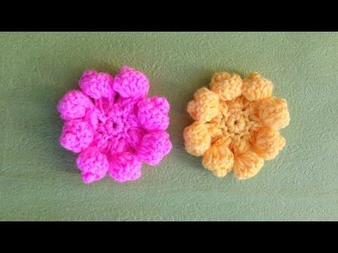 Hướng dẫn móc hoa lan: Mẫu hoa lan hình xoắn ốc