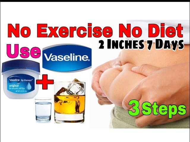 No Exercise No Diet Use These 3 Steps To Reduce 2 Inches In 7 Days Reduce Belly Fat Weight Lose