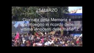 21 MARZO: Giornata della memoria e dell'impegno in ricordo delle vittime innocenti delle mafie
