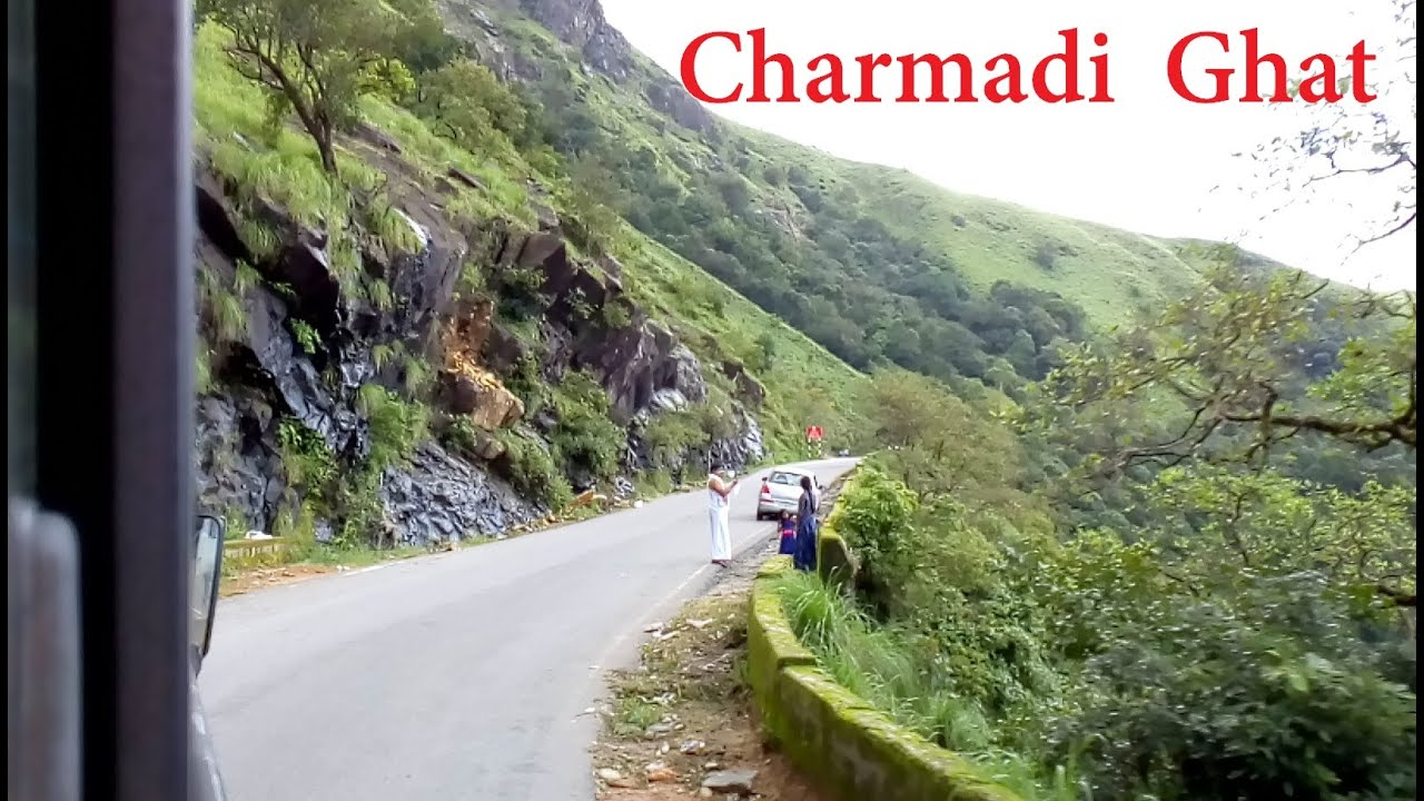Dangerous & Beautiful Road - Charmadi Ghat - KSRTC Mini-Bus