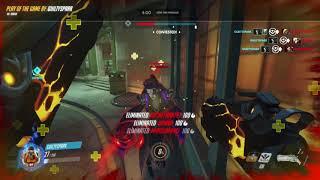 Beautiful flying reaper quad kill