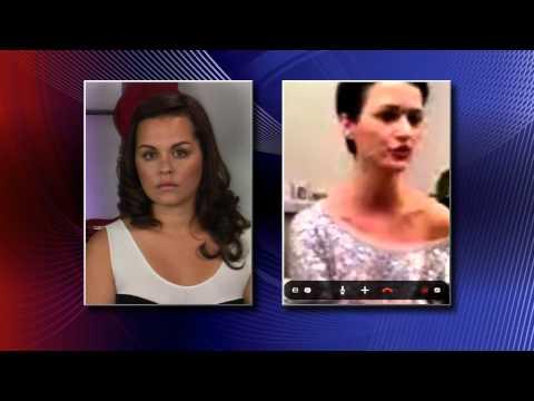"Hosts on ""You are the Supermodel"" interview Debbie Van der putten"