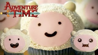 How to Make FINN CAKES from Adventure Time! Feast of Fiction S4 Ep12