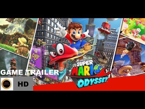 Game Trailer | Super Mario Odyssey | Nintendo E3 (2017)
