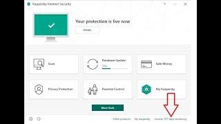 Download Kaspersky Internet Security 2019 License For 365 Days + Crack(KRT File)