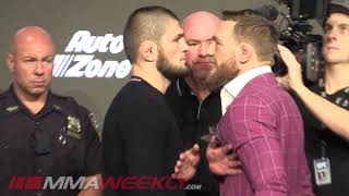 UFC 229: Conor McGregor vs. Khabib Nurmagomedov Face-Off