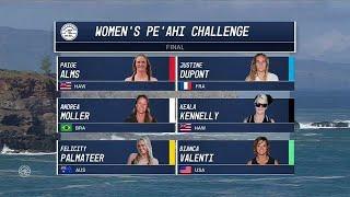 2017 Women´s Pe´ahi Challenge: Final