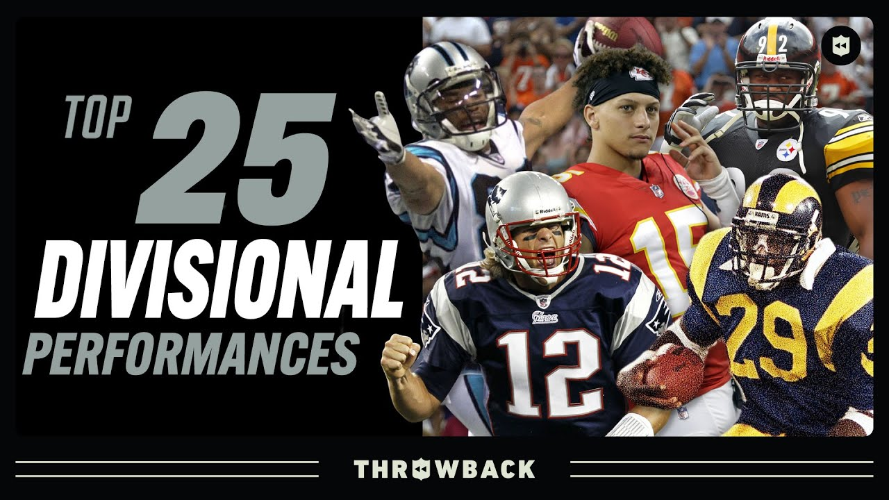 Top 25 Divisional Round Performances: Brady, Mahomes, Dickerson, & More!