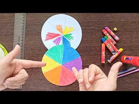 Renk çarkı yapımı-Ana