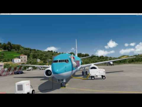 Thomson PMDG 737-800 LGSK/EGKK with Ulitmate Traffic Live