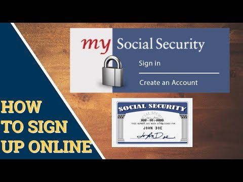How To Sign Up For My Social Security Account Online