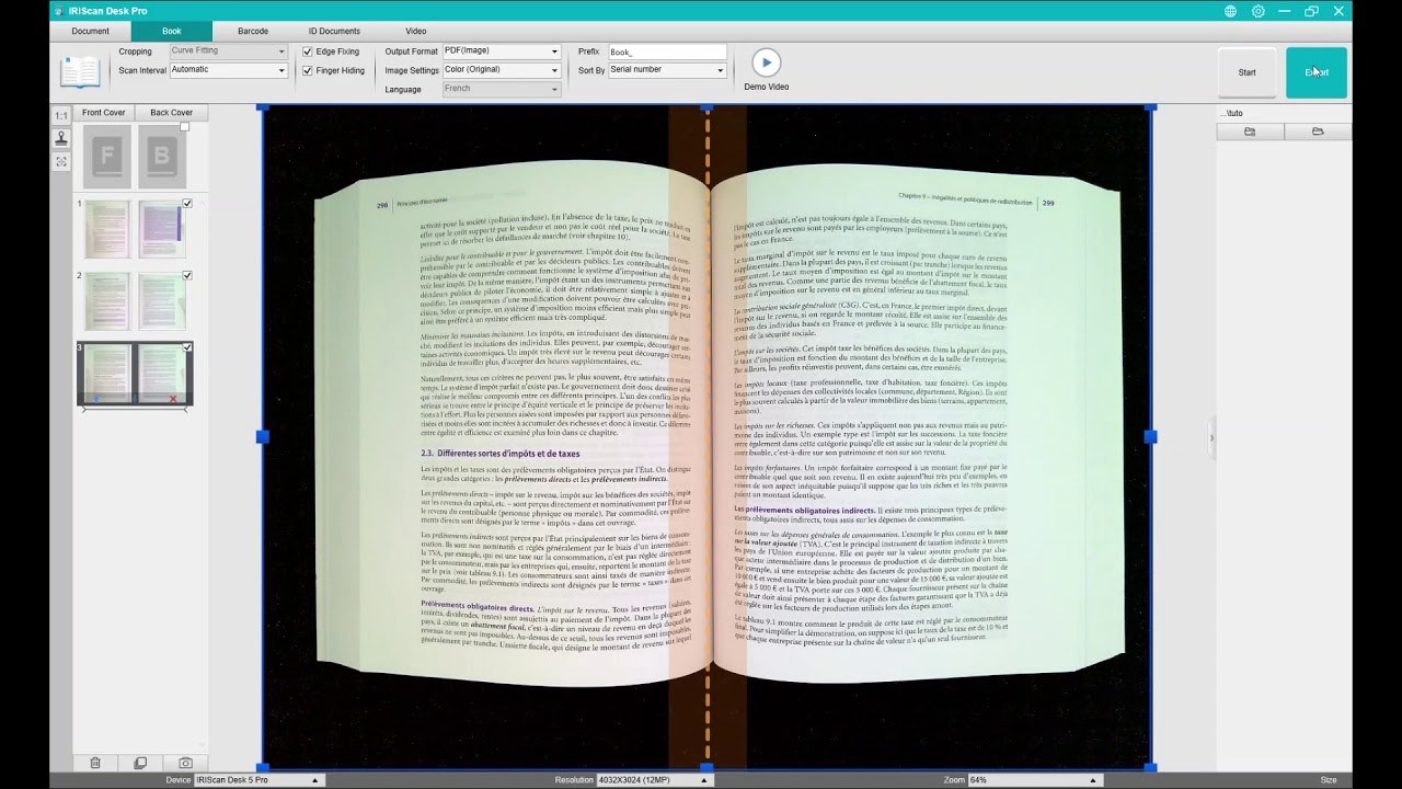 Iriscan Desk 5 How To Scan A Book Youtube