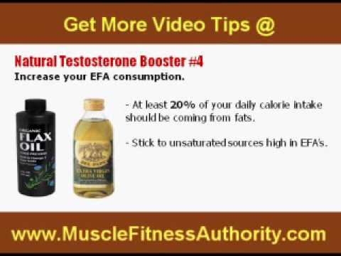 Tips To Increase NORMAL TESTOSTERONE Levels