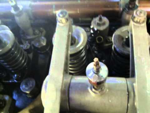Industrie Diesel Engine Running