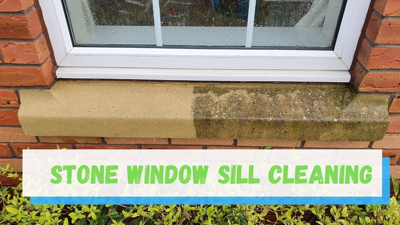 Stone Window Sill Steam Cleaning Youtube