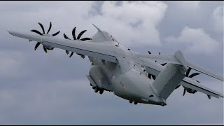 Airbus A400M Tactical Demonstration at RIAT 2019