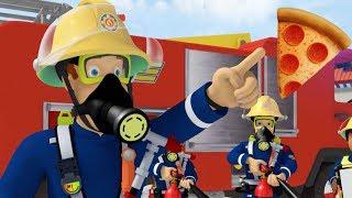 Sam le Pompier francais | Pizza catastrophe!  | Épisode Complet