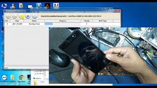 Itel A41 plus flashing/ Itel A41 plus show android is starting and restart solution