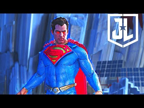 Injustice 2 - Justice League SUPERMAN Epic Gear Set Showcase + All Shaders