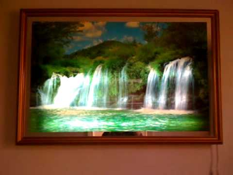 Motion moving waterfall picture.mov - YouTube