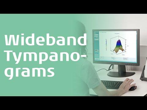 Wideband averaged tympanogram