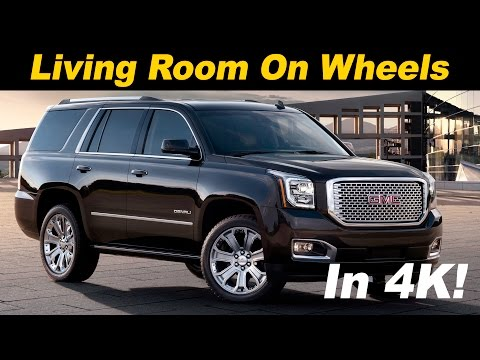 2016 / 2017 GMC Yukon Denali XL Review (also covers Tahoe & Suburban)  in 4K UHD!