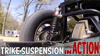 Gambar cover Watch Harley Trike Shocks In Action Going Down Road