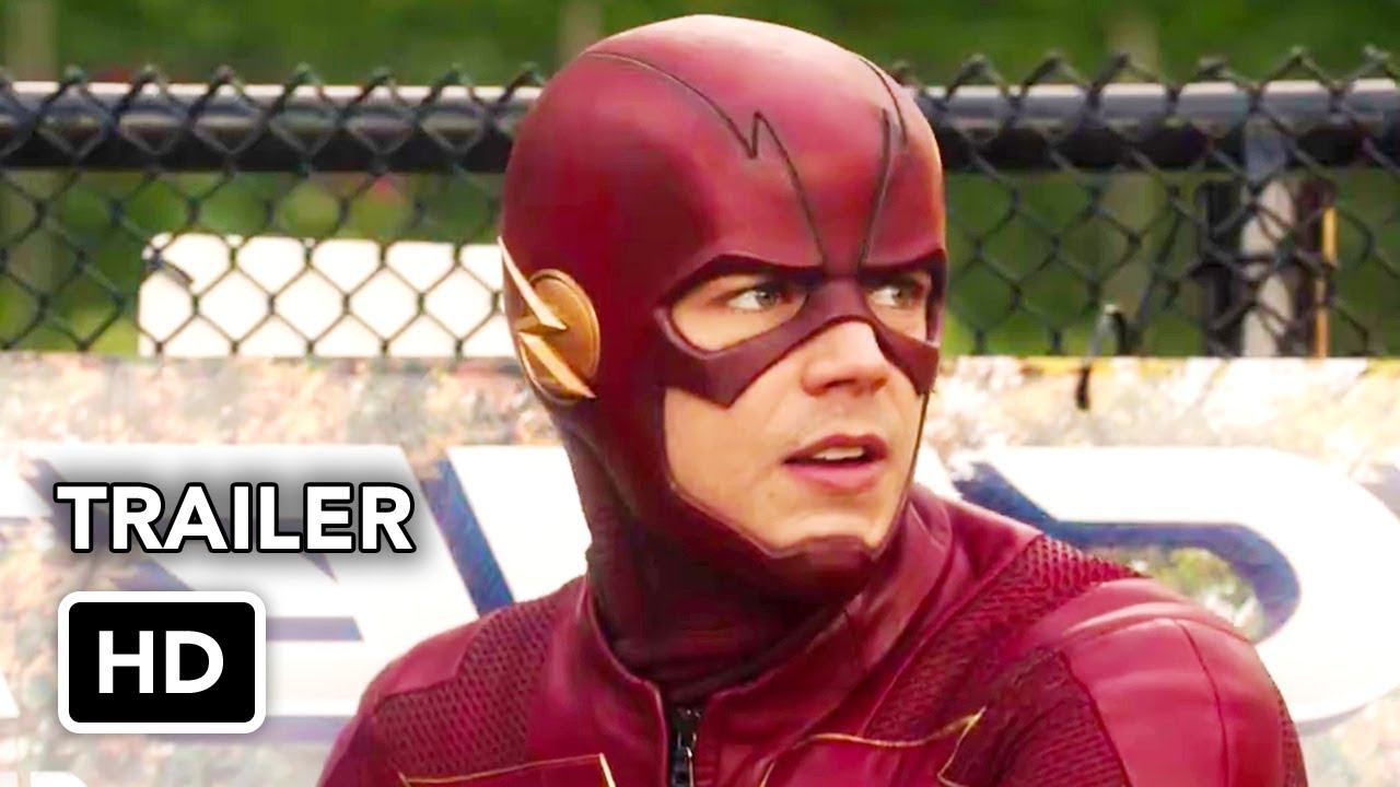 the flash 4x10 trailer the trial of the flash hd season 4
