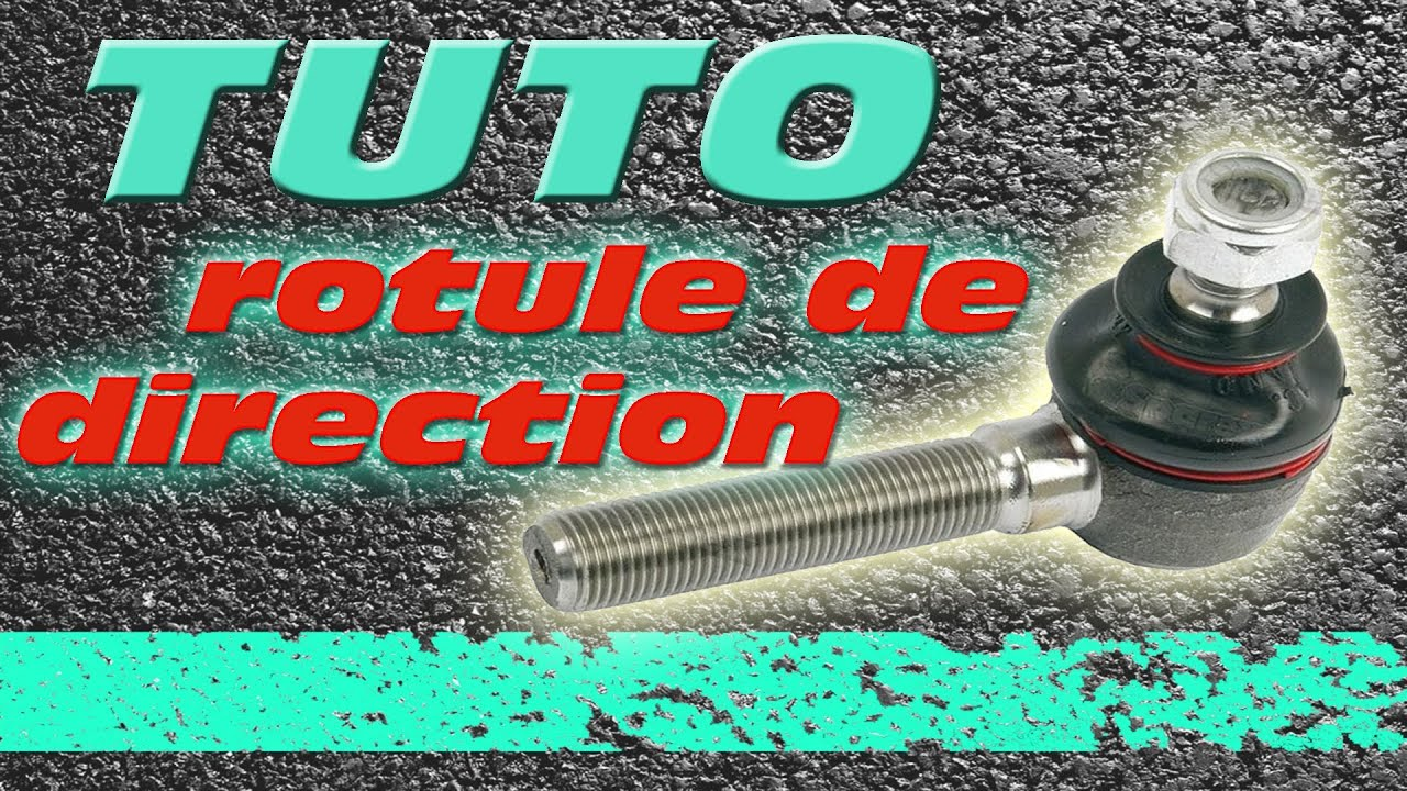 tuto changement rotule de direction how to change tie rod. Black Bedroom Furniture Sets. Home Design Ideas