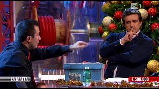 Affari Tuoi: il finale della puntata del 18 dicembre 2014 con Flavio Insinna