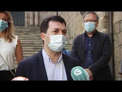 Gonzalo Caballero visita Ourense en la precampaña electoral 2 6 20