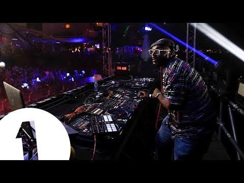 MistaJam live at Café Mambo for Radio 1 in Ibiza 2017