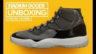 "Air Jordan 11 ""25th Anniversary / Jubilee"" UNBOXING"