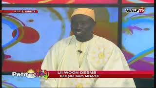 Li Woon Demb (Serigne Sam Mbaye) - Petit Déj du 12 déc. 2019