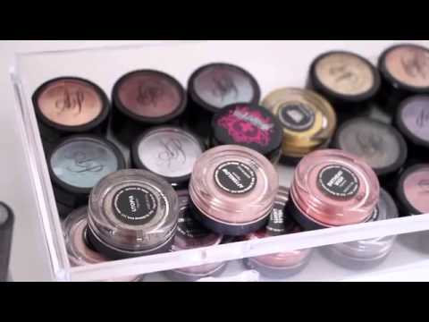 Makeup Collection and Storage   Vanity Tour ♡