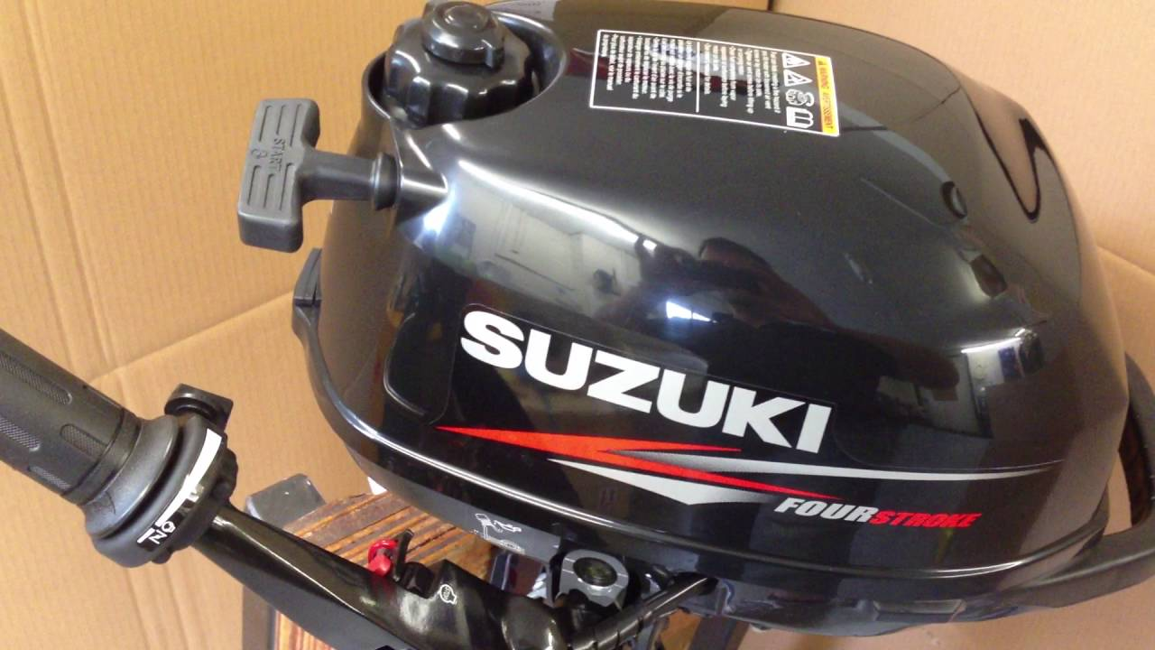 Suzuki 2.5hp outboard review - YouTube