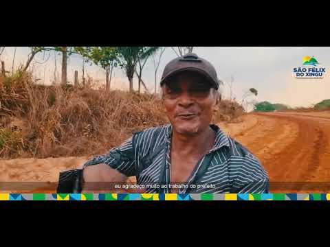 Prefeito João Cleber visita Distrito de Taboca.