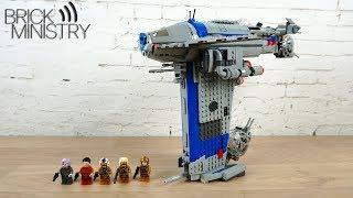 Обзор LEGO 75188 Star Wars ● Бомбардировщик Сопротивления