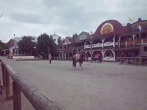 Pullman City Harz Die Westernstadt Im Harz Miguel La Riata Zeigt Tricklassoshow