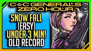 [Current World Record Speedrun] C&C Generals Zero Hour: USA 3 Easy