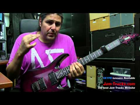 Michael Romeo (Symphony X) Ultra Fast Tapping Lick Part1 | Lick Of The Week 137