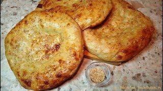 Узбекская лепешка в духовке - Как из тандыра!