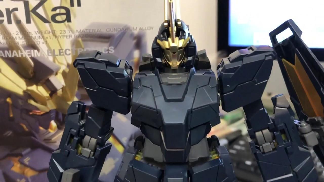Mg Unicorn Gundam 02 Banshee Verka Youtube Rx78 2 114215