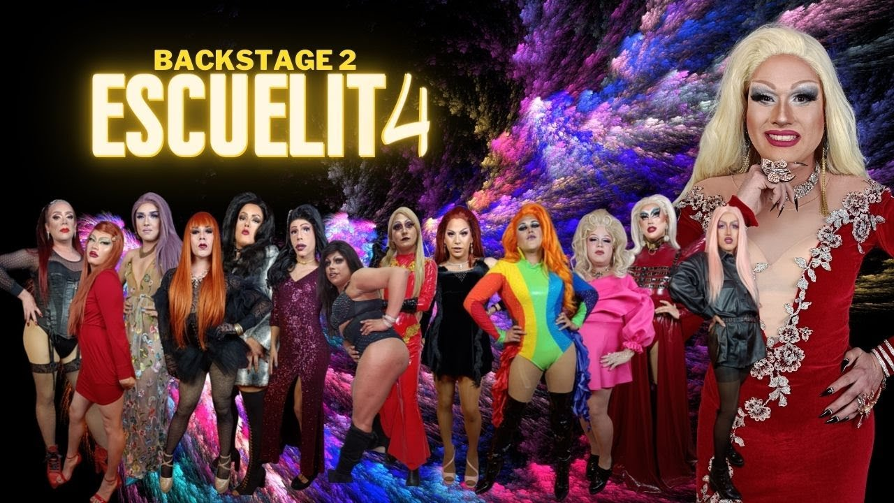 BACKSTAGE 2 ESCUELITA 4 - CANAL FARANDULA GAY