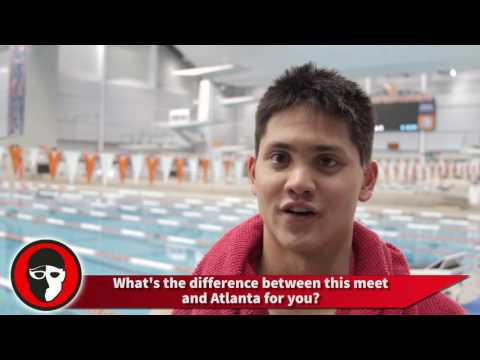 Schooling - Phelps next to me made the difference
