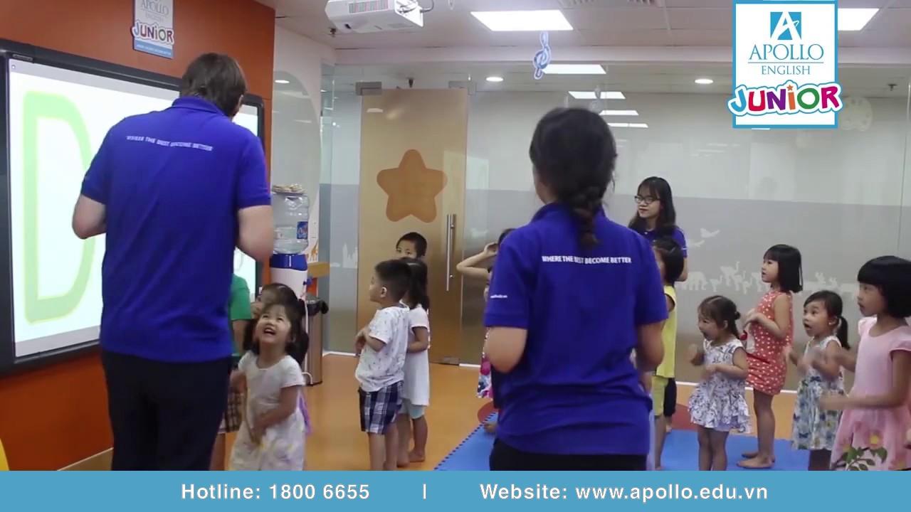 Lớp kỹ năng phát âm tại Apollo English | Tiếng Anh trẻ em