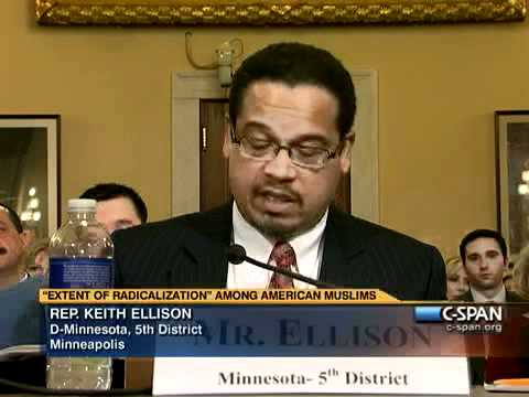 Statement from Rep. Keith Ellison (D-MN)
