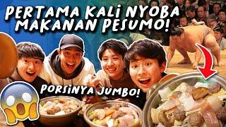 Download lagu PERTAMA KALI MAKAN MAKANAN SUMO JEPANG! PORSINYA JUMBO!?