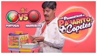 quién va a ganar el partido portugal vs marruecos pajarito copetes
