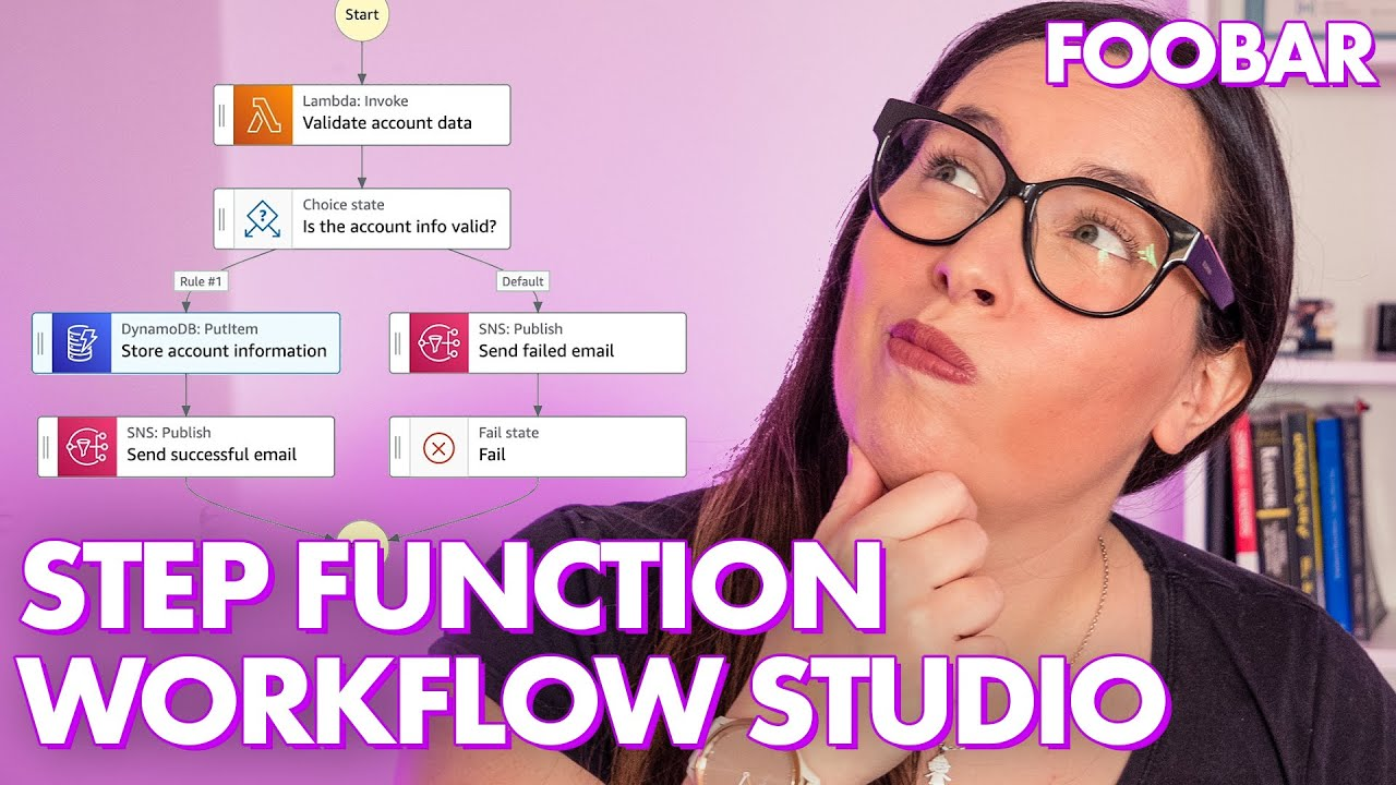 🆕 Build Workflows Visually with AWS Step Functions Workflow Studio - With A Working DEMO